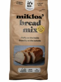 It's us Miklos's bread mix